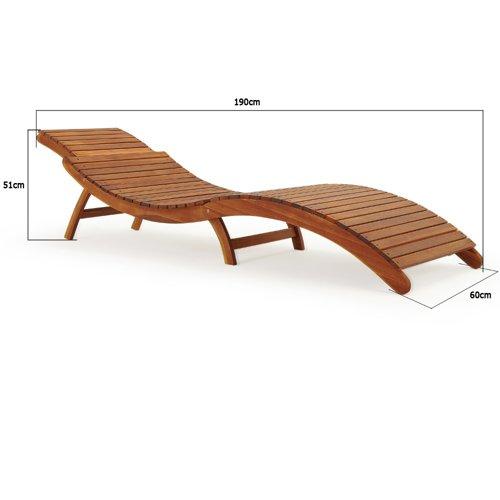 Meble Ogrodowe Z Drewna Akacjowego Opinie :  DREWNA AKACJOWEGO  OGRÓD  MEBLE OGRODOWE  Leżaki  WideShoppl