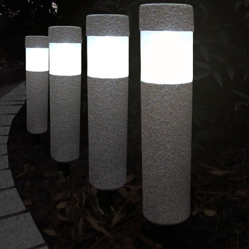 Lampka Lampa Ogrodowa Solarna Kamienna Led 600mah Ogród Lampy