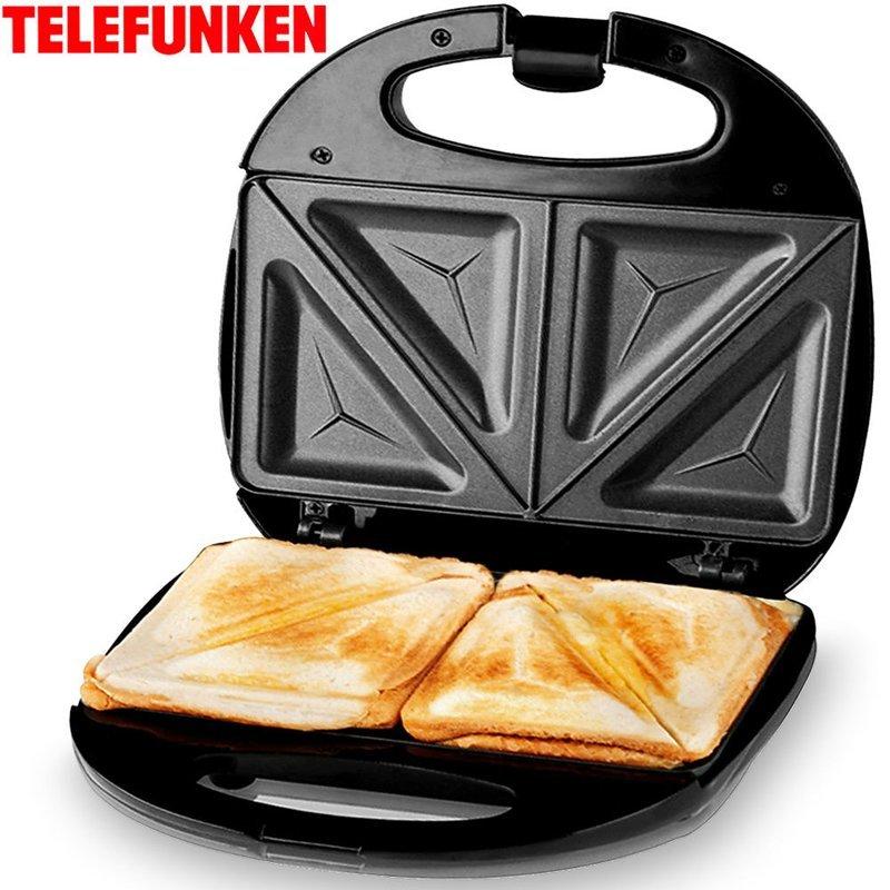opiekacz do kanapek czarny toster automatyczny dom agd tostery