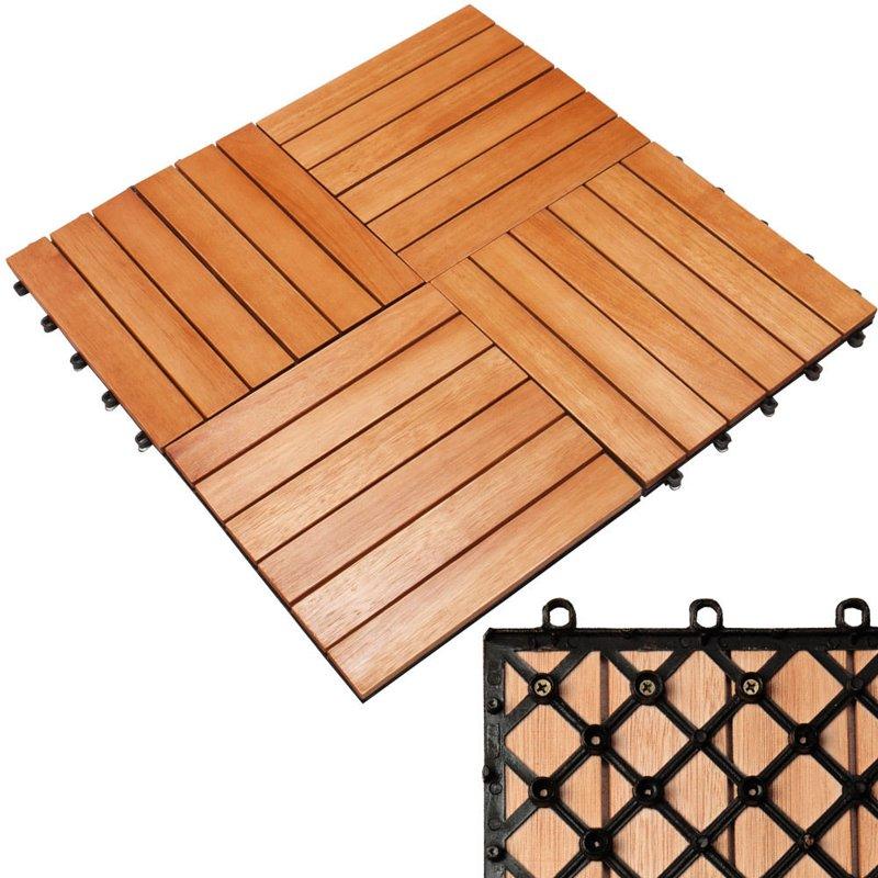 P ytki drewniane balkonowe balkon taras 1m2 30x30 ogr d for Fenetre 30 x 30