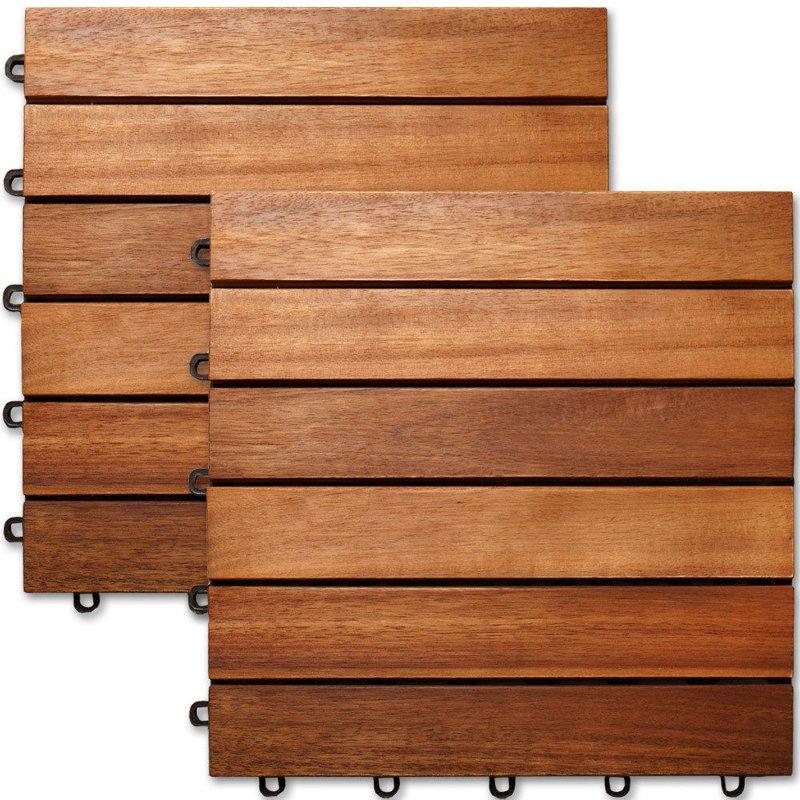 p ytki drewniane balkonowe balkon taras 1m2 30x30 ogr d. Black Bedroom Furniture Sets. Home Design Ideas