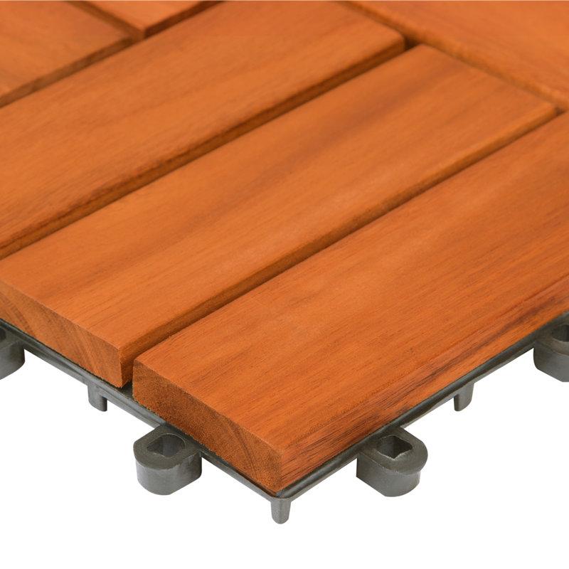 Płytki Drewniane Balkonowe Balkon Taras 1m2 30x30