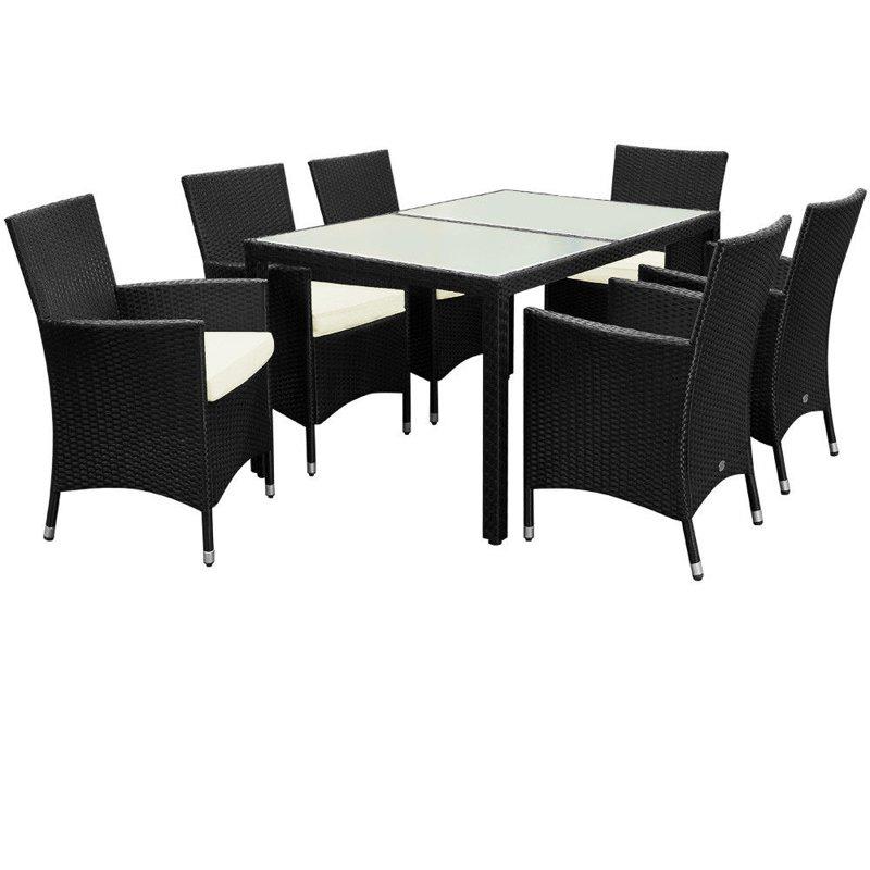 b774a2b7b58 affordable zestaw mebli ogrodowych st krzesa polyrattan with polyrattan  stol with merxx gartenmobel handler